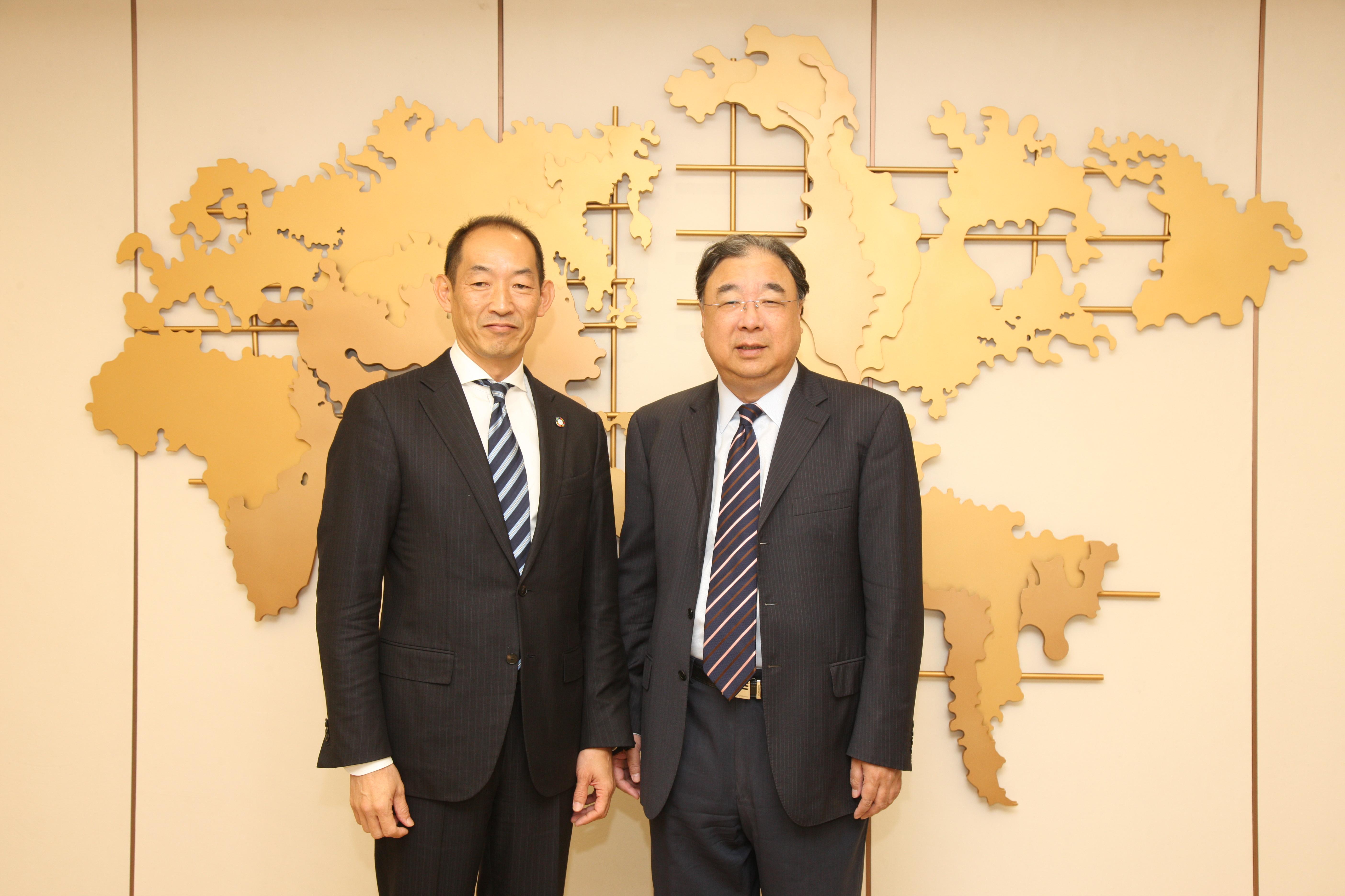 马晓伟主任在京会见世界卫生组织西太区主任葛西健