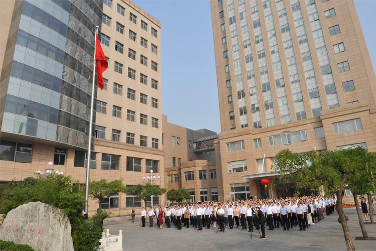 国家卫生健康委举行升国旗仪式庆祝中华人民共和国成立70周年