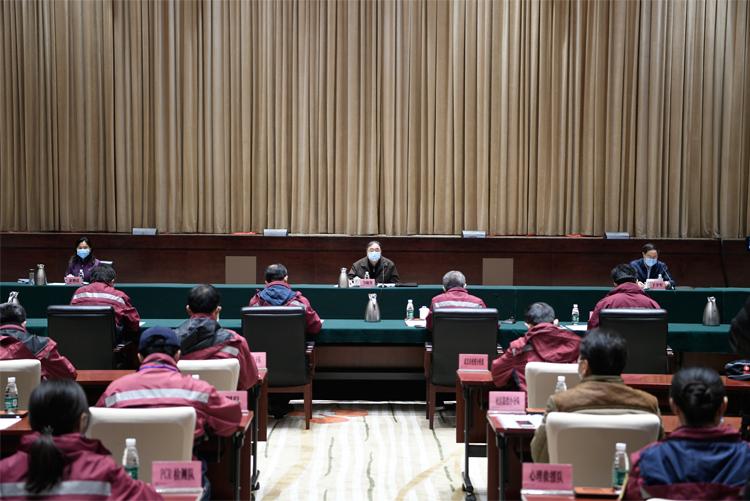 疾控系统疫情防控工作座谈会在武汉召开