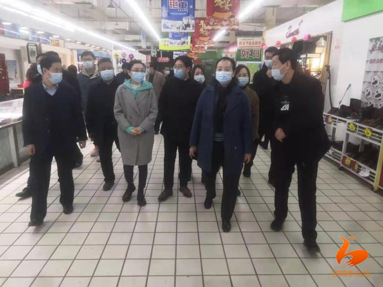 陕西宝鸡:全力做好疫情防控市场保供安全生产等工作